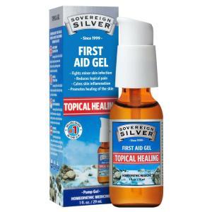 Sovereign Silver First Aid Gel 1 Oz
