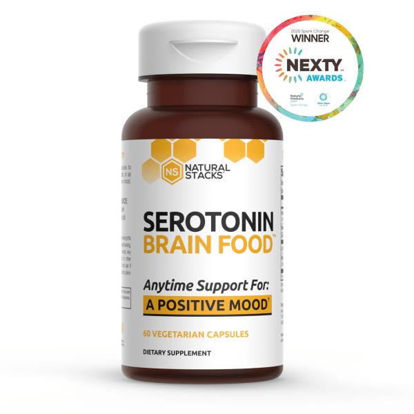 Serotonin Brainfood 60vc