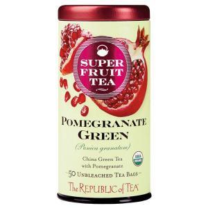 Organic Pomegranate Green Superfruit Tea