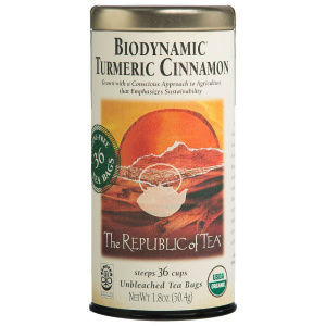 Biodynamic Turmeric Cinnamon Tea