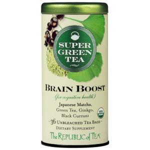 Organic Brain Boost SuperGreen Tea