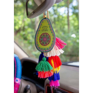 Happiness is Chips & Guac Car Air Freshener