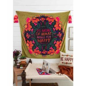 Do More Happy Tapestry Blanket
