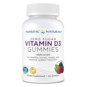 Vitamin D3 Gummies Sugar Free 60CT