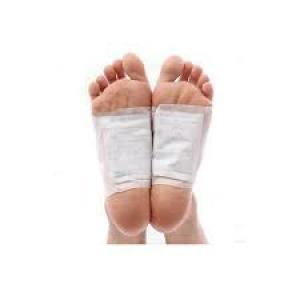 10 Pack Silver Detox Foot Pads