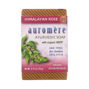Auromere Himalayan Rose Soap 2.75oz
