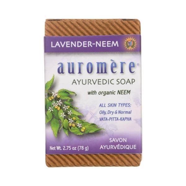 Auromere Lavender Neem Soap 2.75oz