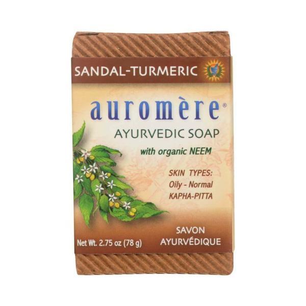 Auromere Sandalwood/Turmeric Soap 2.75oz