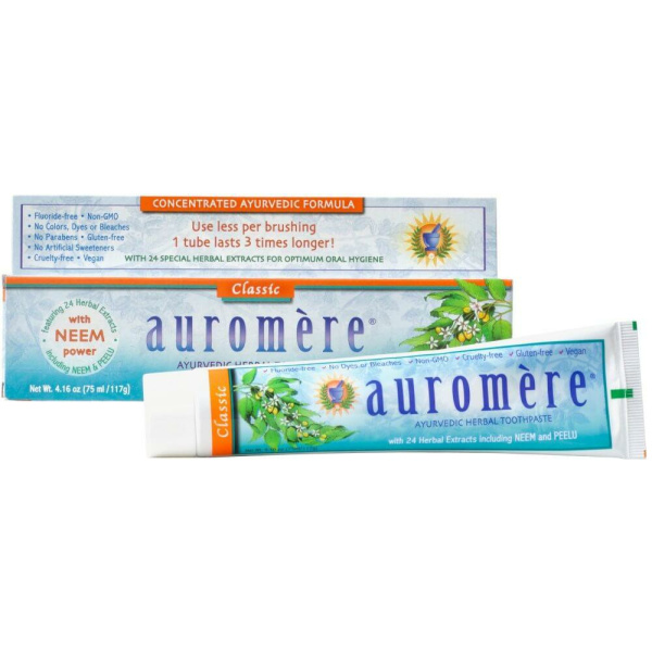 Auromere Classic Licorice Toothpaste 4oz