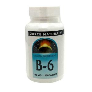 Vitamin B6 100 Mg 100 Tablets