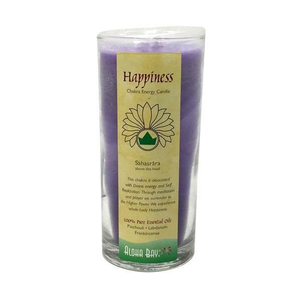 Happiness Chakra Energy Candle