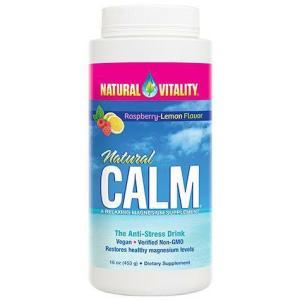 Natural Calm Raspberry Lemon 16 Oz