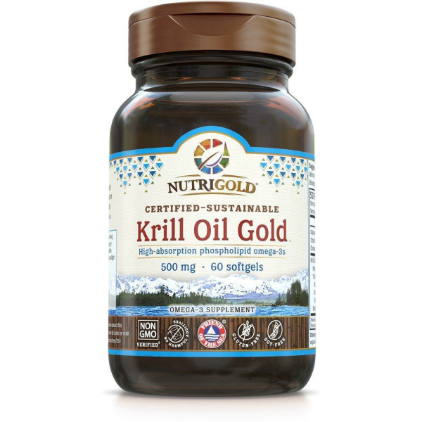 Krill Oil Gold 500mg 60softgels