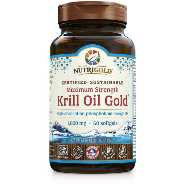 Krill Oil Gold 1000mg 60sg