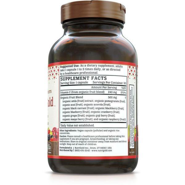 Whole-Food Vitamin C Gold 240mg 60vc
