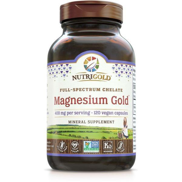Magnesium Gold 200mg 120vc