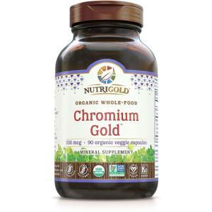Chromium Gold 200mcg 90vc