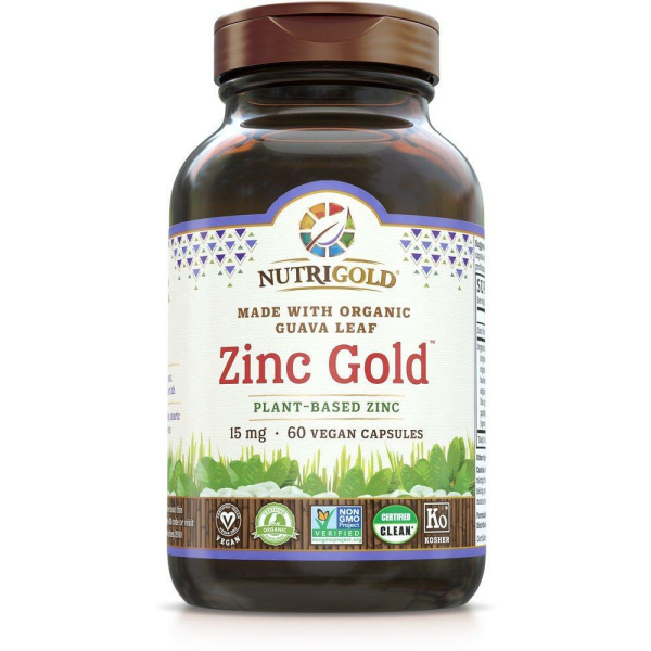 Zinc Gold 15mg 60vc