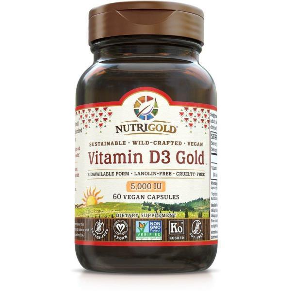 Vitamin D3 Gold 5000 IU 60vc