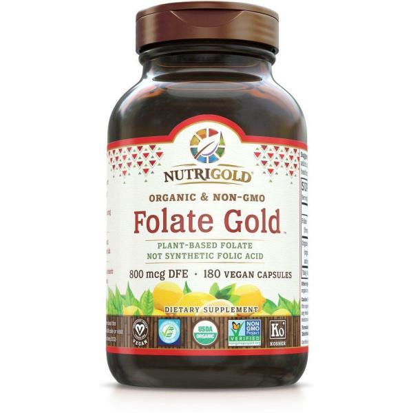 Folate Gold 800mcg 180vc