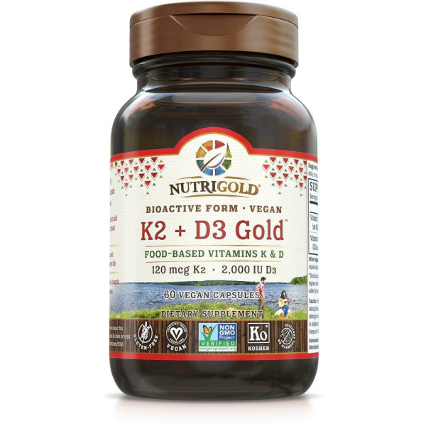 Vitamin K2+D3 Gold 60VC