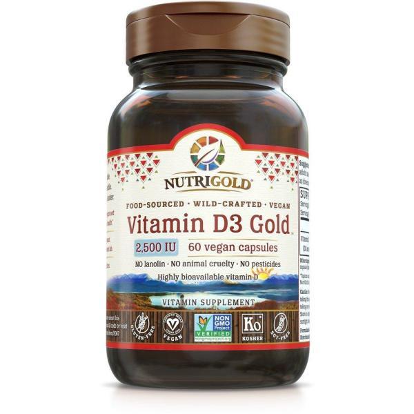 Vitamin D3 Gold 2500 IU 60vc