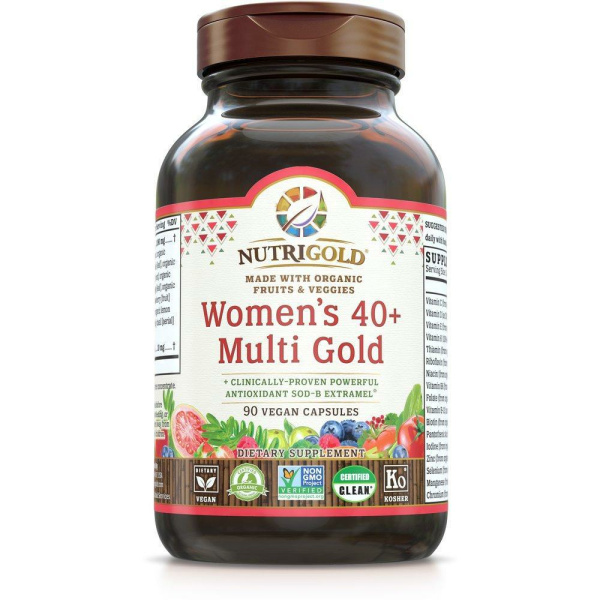 Women's 40+ Multi Gold 90vc