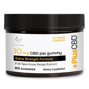 Plus CBD Oil Gummies 10mg 60ct
