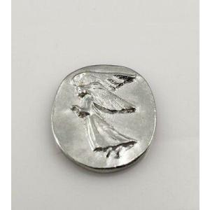 Silver Pocket Angel
