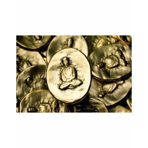 Gold Pocket Buddha